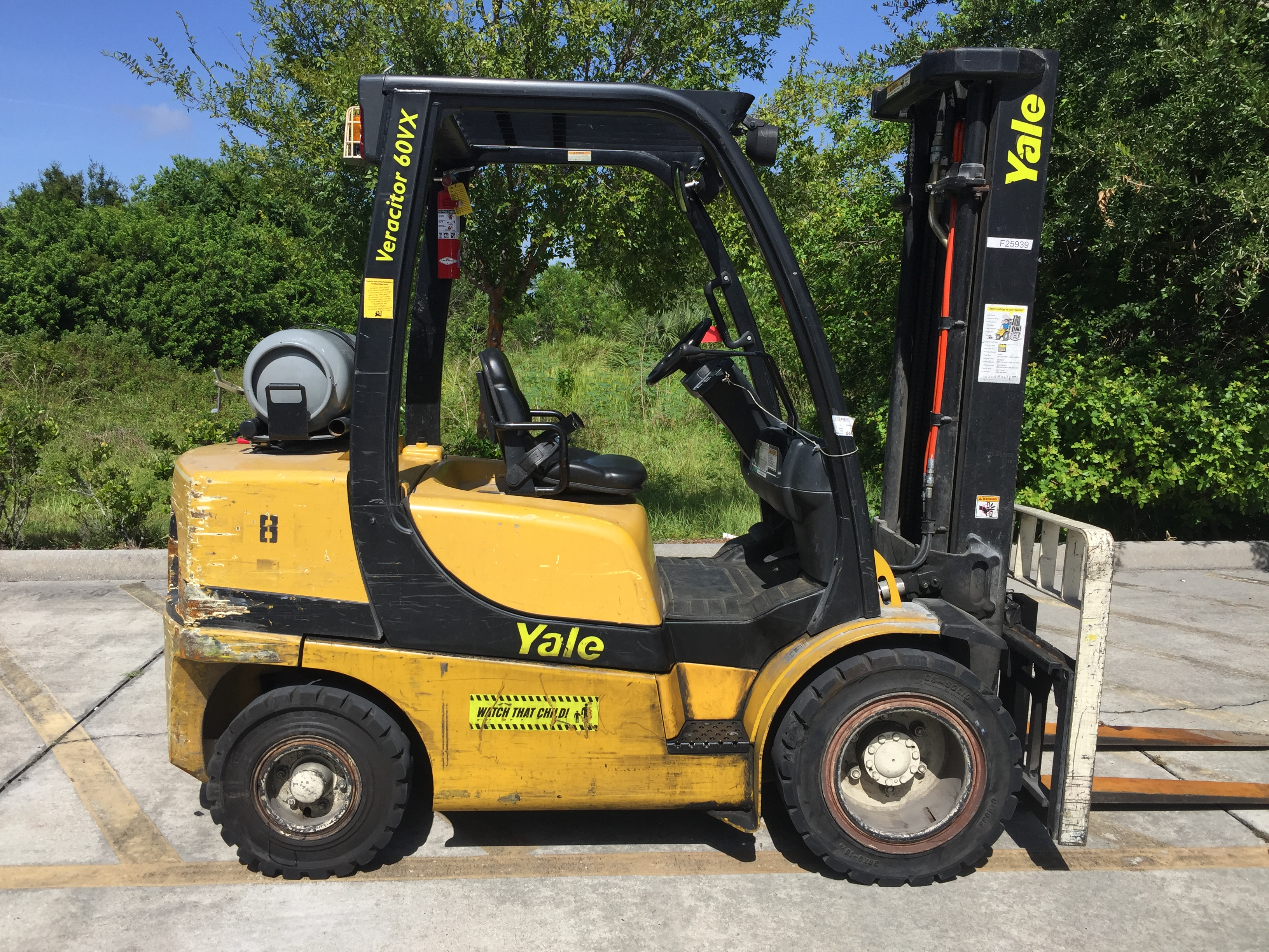 2006 YALE GLP060VXEVRE093 FORKLIFT FOR SALE