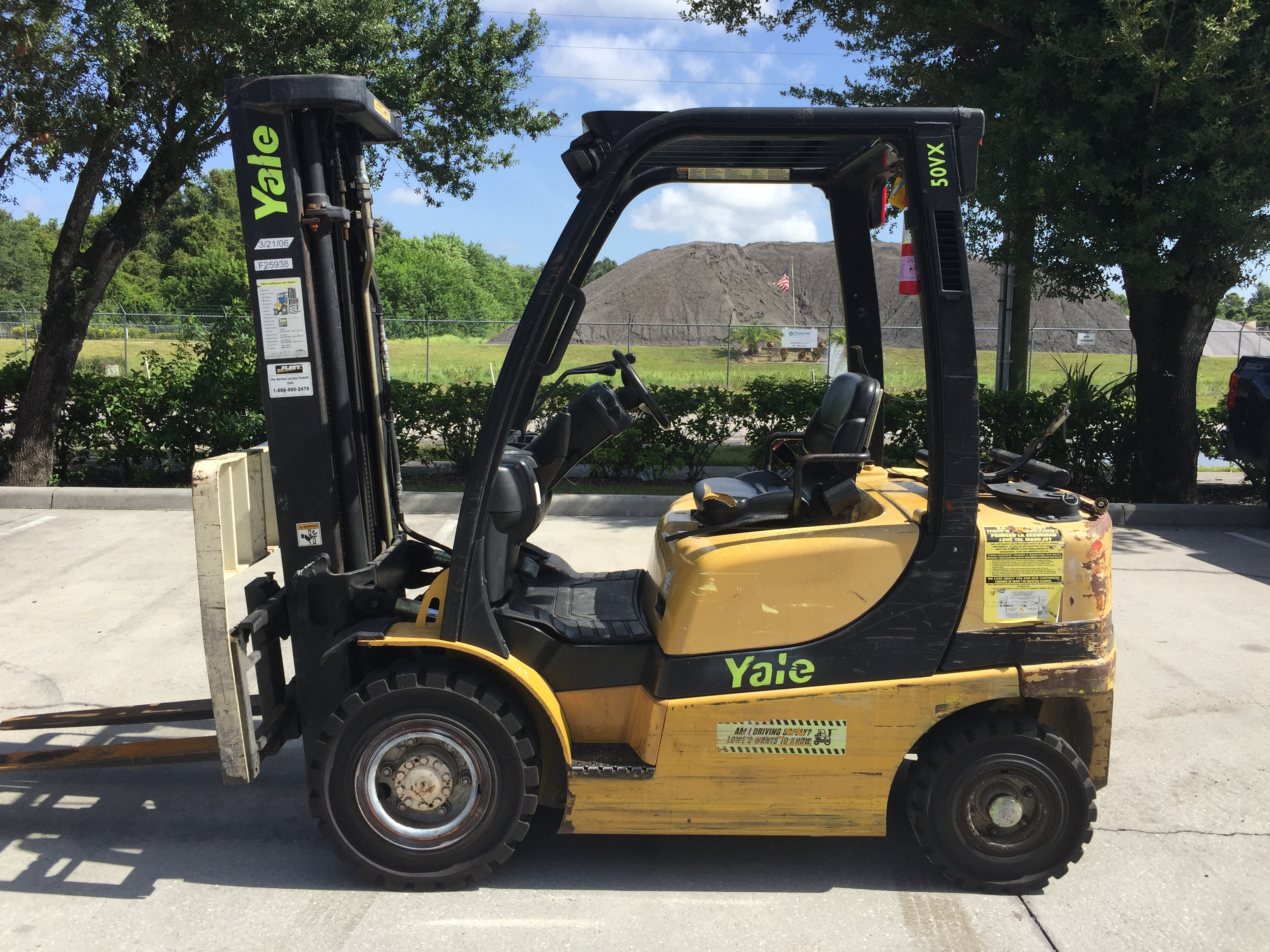 2005 YALE GLP050VXEURE090 FORKLIFTS FOR SALE