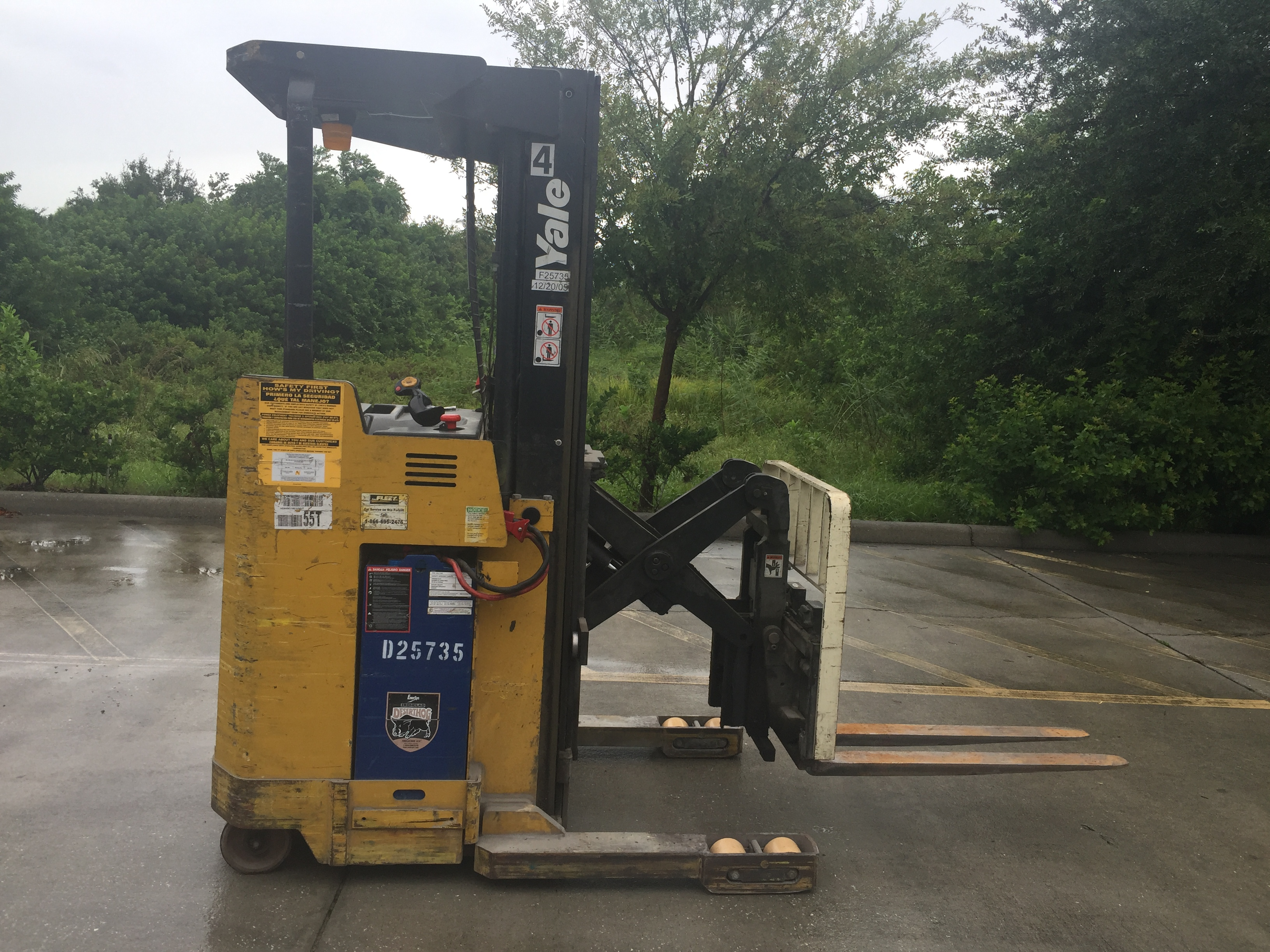 2006 YALE NR040AENS24TE091 FORKLIFT FOR SALE